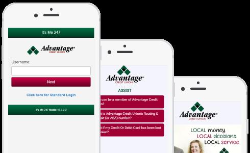 Advantage phone preview