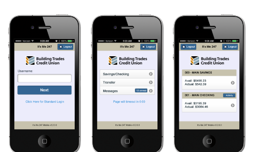 Building Trades CU phone preview