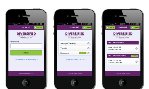 Diversified phone preview