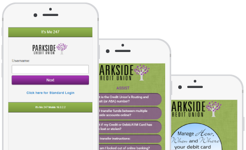 Parkside CU phone preview