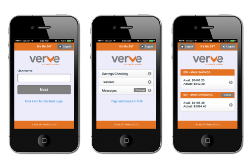 Verve phone preview