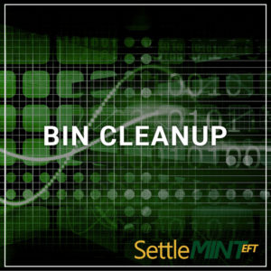 BIN Cleanup - a service by SettleMINT EFT