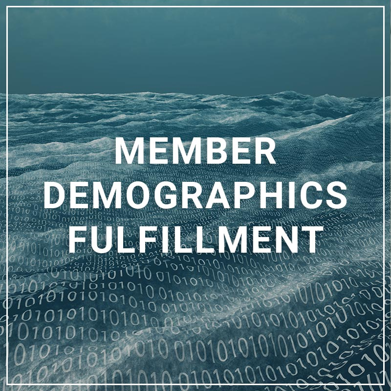 Member Demographics Fulfillment