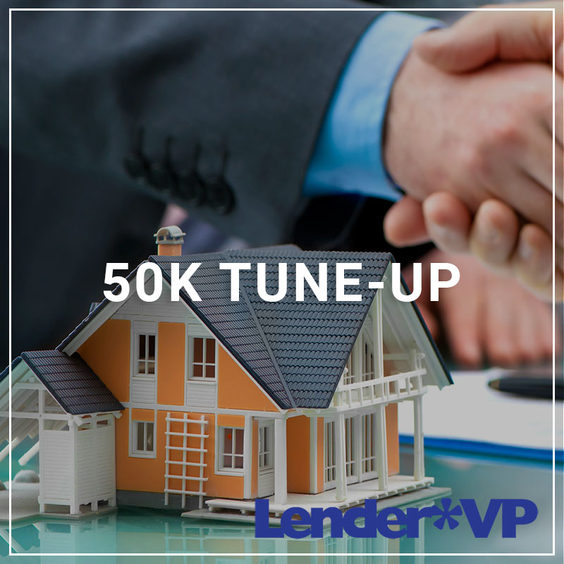 50k Tune-Up - a service by Lender*VP