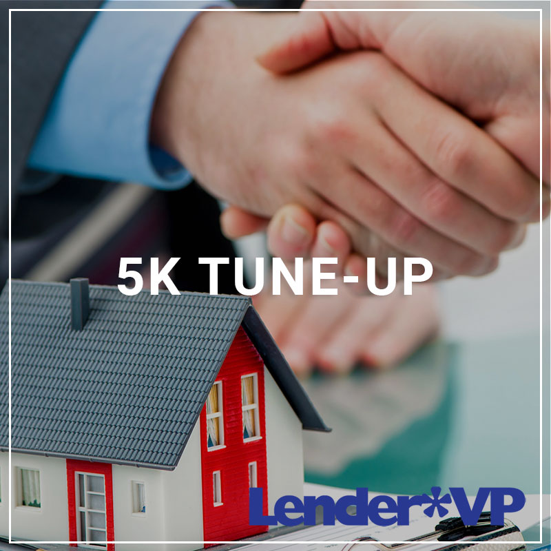 5k Tune-Up - a service by Lender*VP