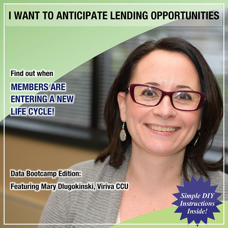 I Want to Anticipate Lending Opportunities