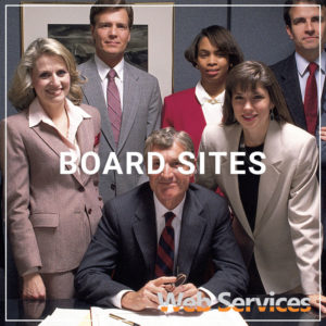 Board Sites - a service by Web Services