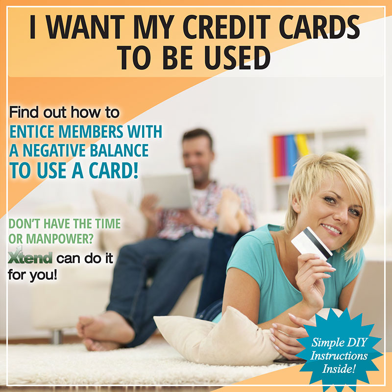 I Want My Credit Cards to be Used