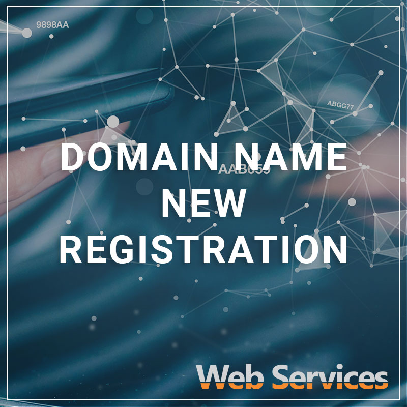 Domain Name New Registration - a service by Web Services