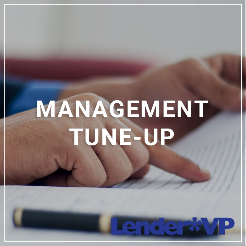 Management Tune-Up - a service by Lender*VP