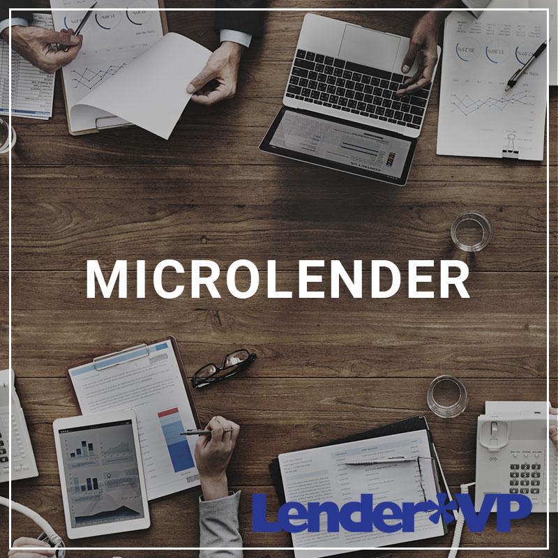 MicroLender - a service by Lender*VP