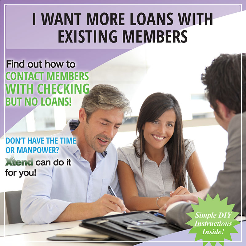 I Want More Loans With Existing Members