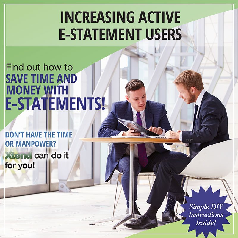 Increasing Active E-Statement Users