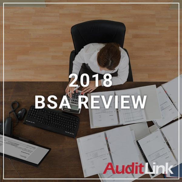 2018 BSA Review - a service by AuditLink