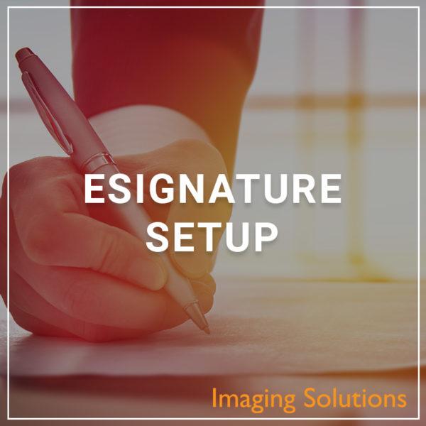 eSignature Setup