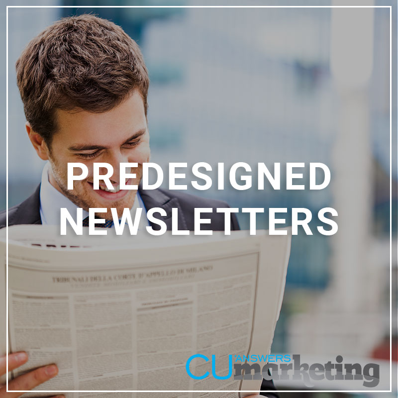 Predesigned Newsletters - a service by Marketing