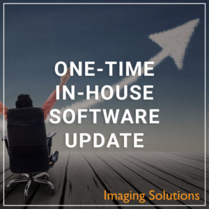 One-Time In-House Software Update - a service by Imaging Solutions