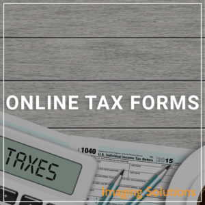 Online Tax Forms - a service by Imaging Solutions