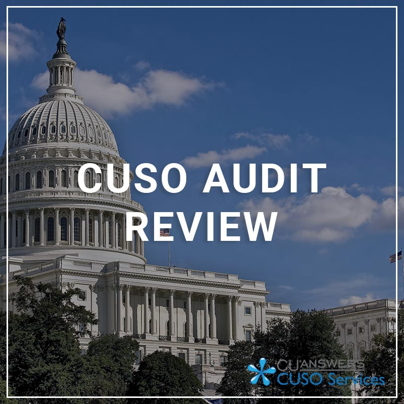 CUSO Audit Review - a service by CUSO Services