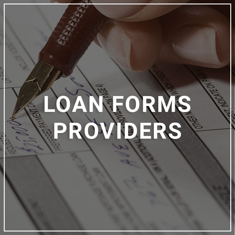 Loan Form Providers