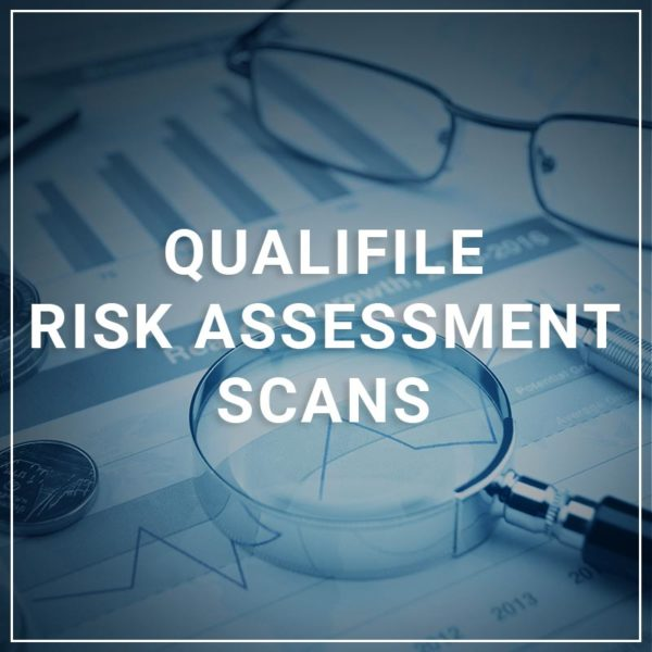 Qualifile Risk Assessment Scans
