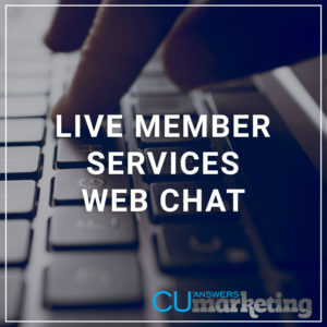 Live Member Services Web Chat - a service by Marketing