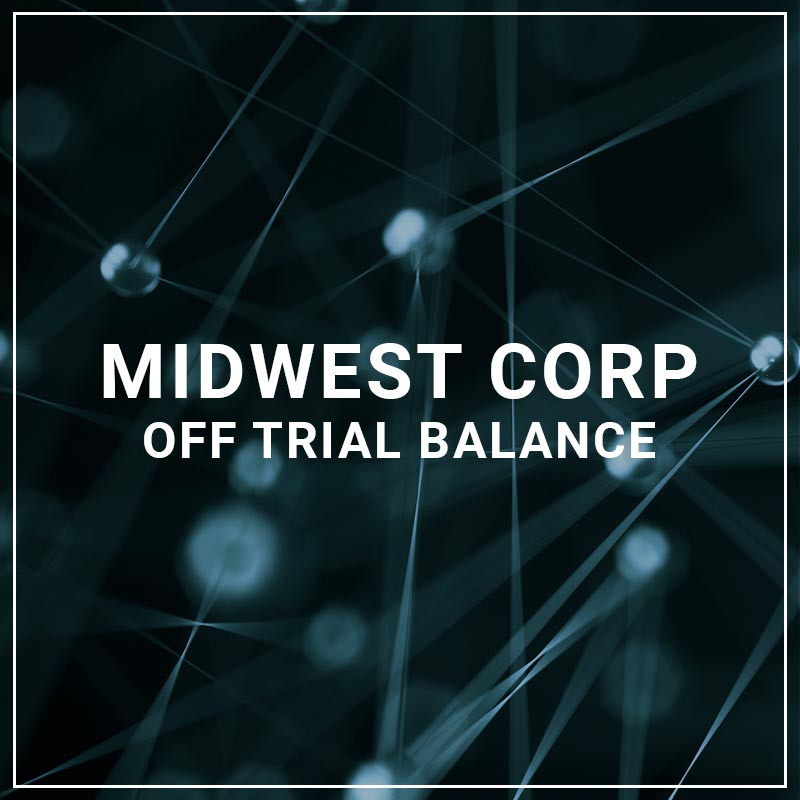 Midwest Corp Off trial Balance