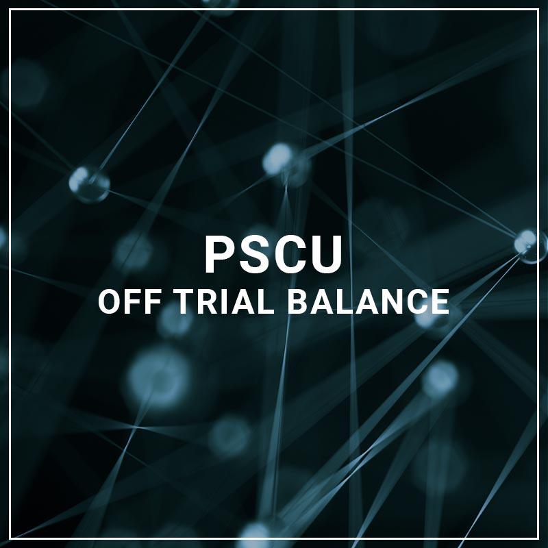 PSCU Off Trial Balance