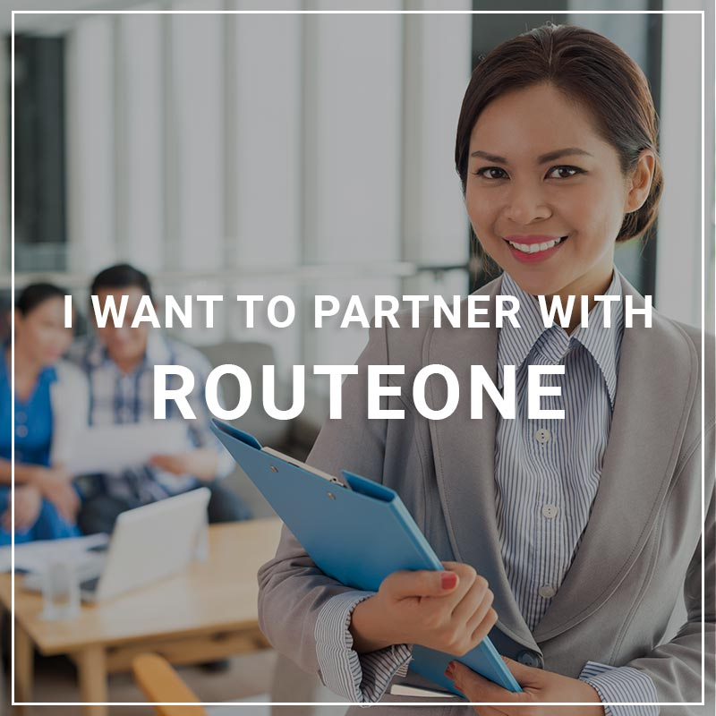 I want to Partner with RouteOne