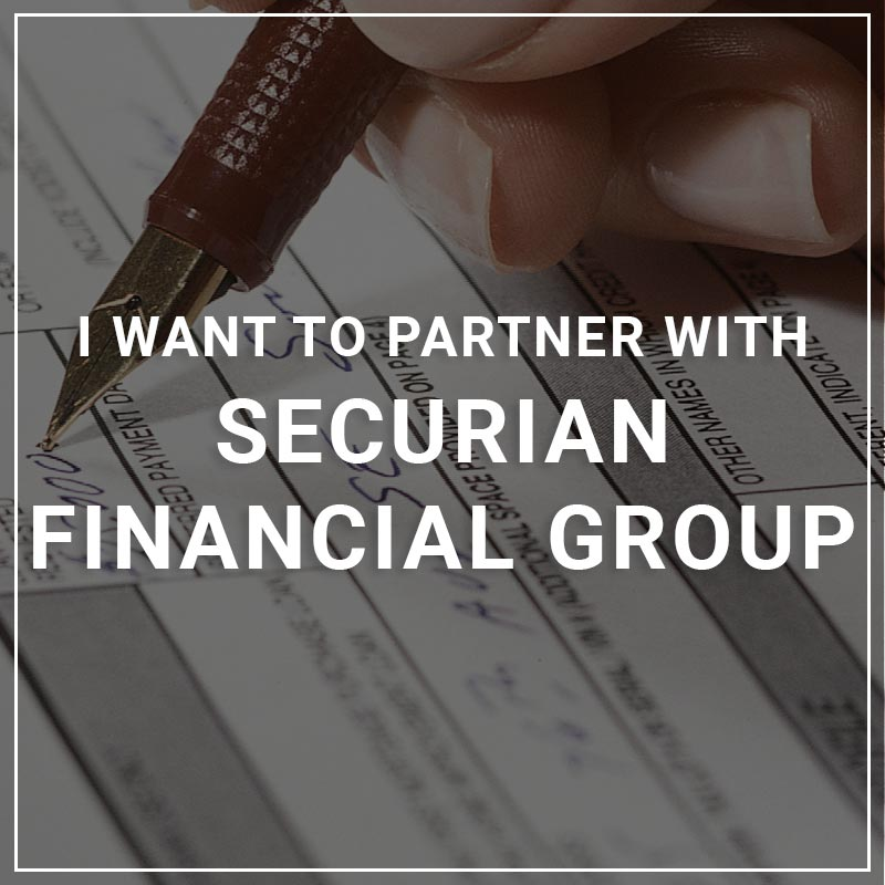 I Want to Partner with Securian Financial Group