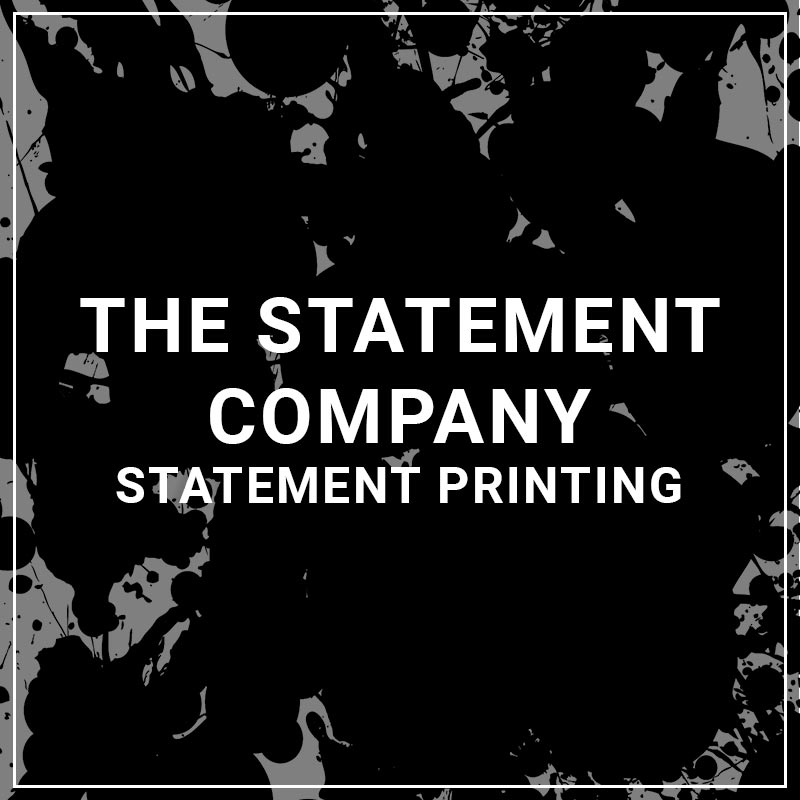 The Statement Company Statement Printing