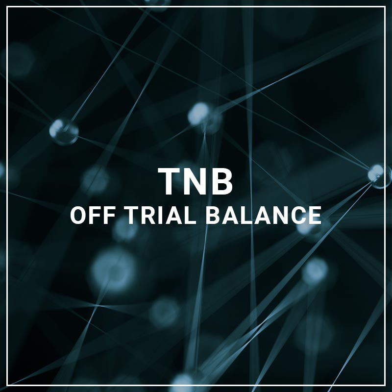 TNB Off Trial Balance