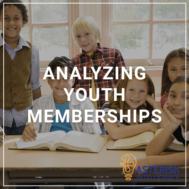 Analyzying Youth Memberships - a service by Asterisk Intelligence
