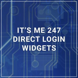 It's Me 247 Direct Login Widgets