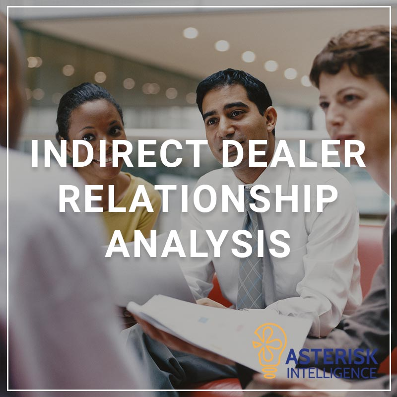 Indirect Dealer Relationship Analytics - a service by Asterisk Intelligence