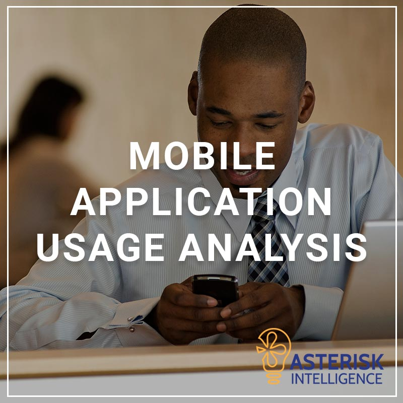 Mobile Application Usage Analysis - a service by Asterisk Intelligence