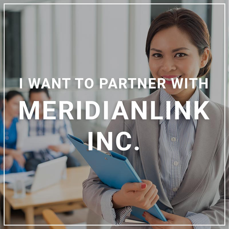I Want to Partner withMeridianLink Inc