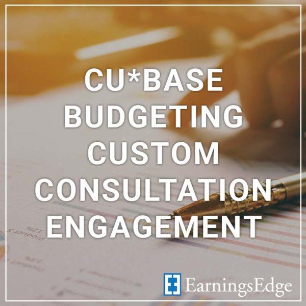 CU*BASE Budgeting