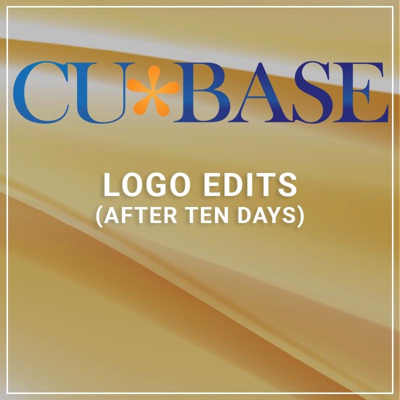 Logo Edits after ten days