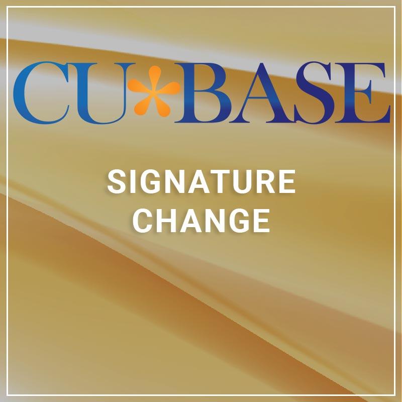 Signature Change