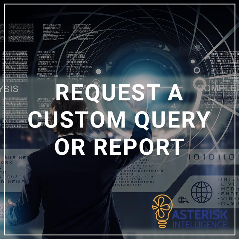 Request a Custom Query or Report - a service by Asterisk Intelligence