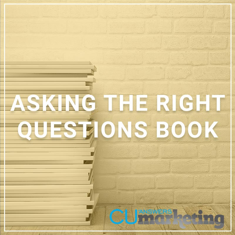 Asking the Right Questions Book - a service by Marketing