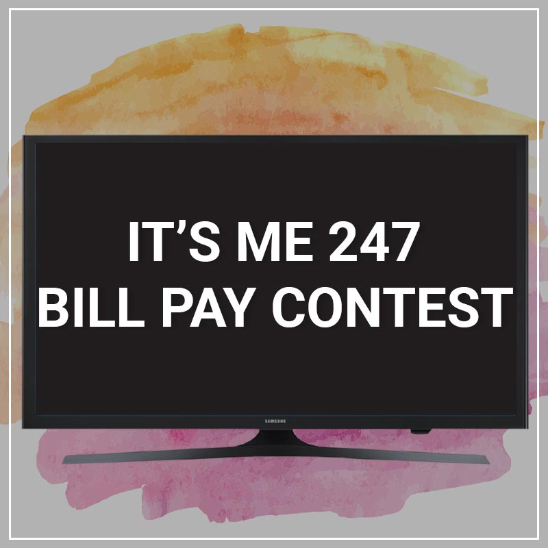 Bill Pay Contest - a service by Marketing