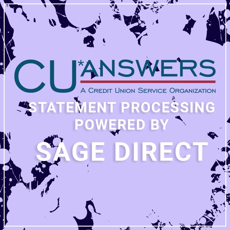 CU8answers Statement Processing Powered by Sage Direct