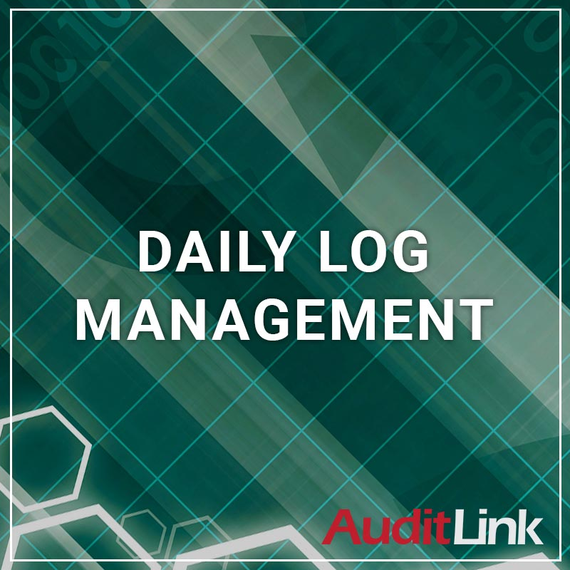 Daily log Management - a service by AuditLink