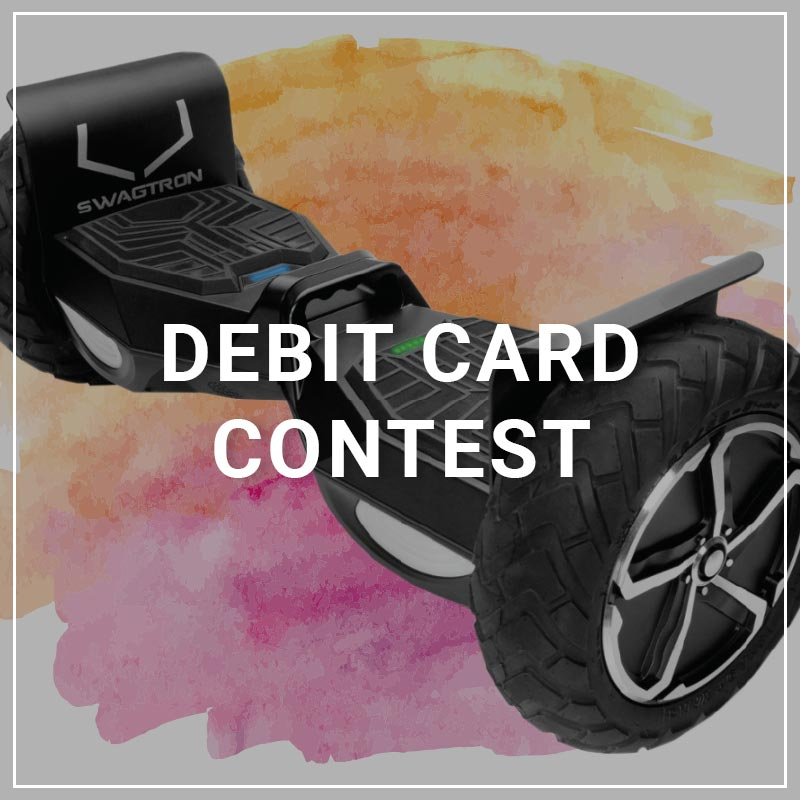 Debit Card Contest - a service by Marketing