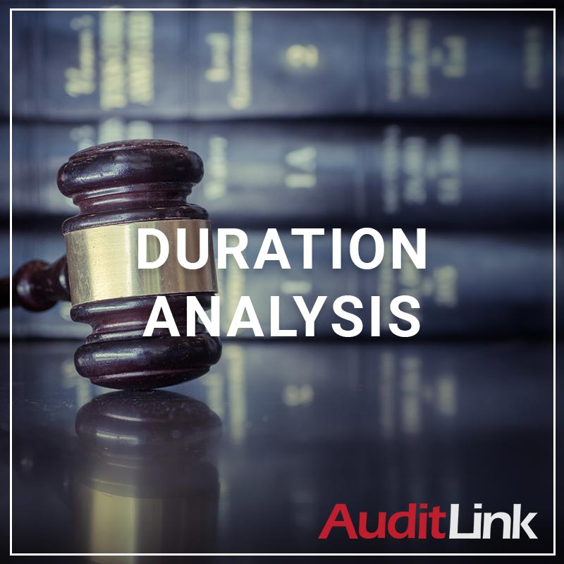 Duration Analysis - a service by AuditLink