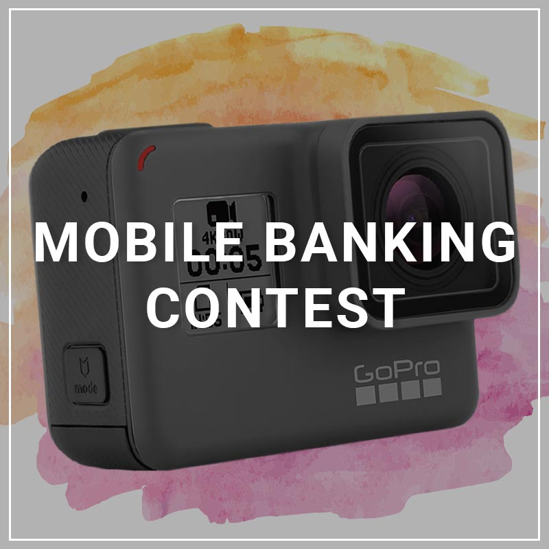 Mobile Banking Contest - a service by Marketing