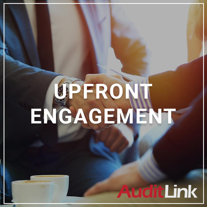 AuditLink Upfront Engagement