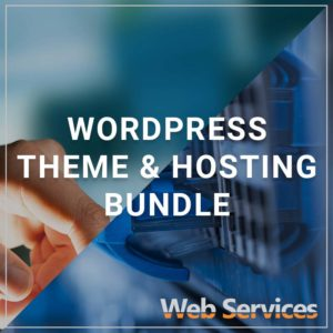 WordPress Theme & Hosting Bundle - a service by Web Services
